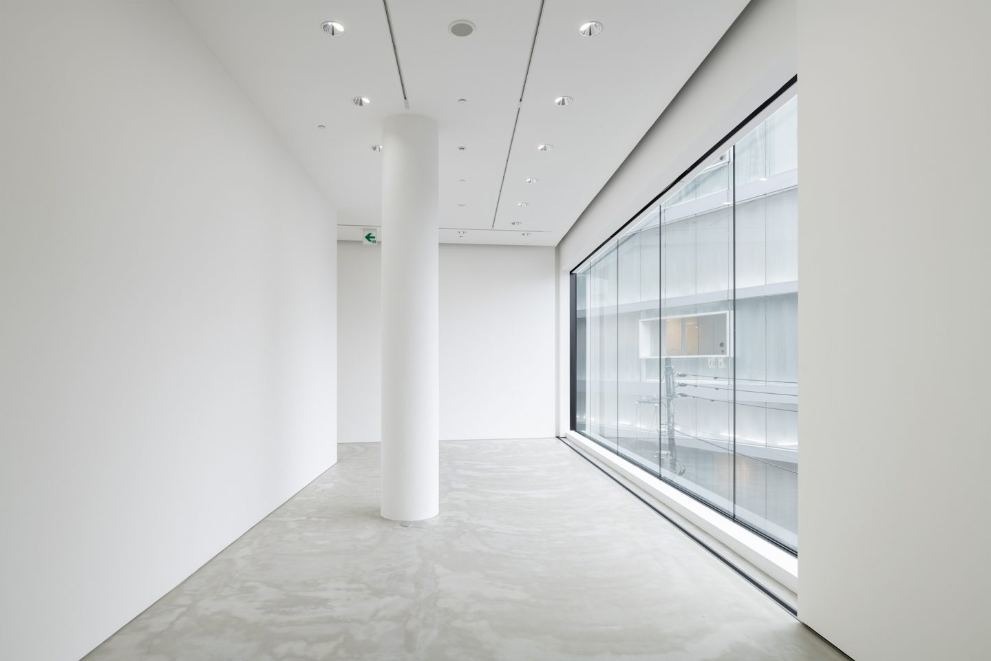 Gyre Gallery, Tokyo, J. Hildebrand Studios AG, Architecture and Urban Design in Zurich, Switzerland
