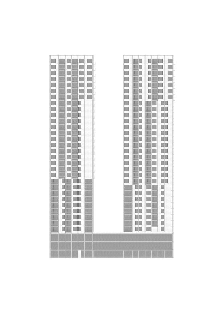 High-Rise Buildings West, Spreitenbach AG. — Hildebrand Studios AG, Architecture and Urban Design in Zurich, Switzerland