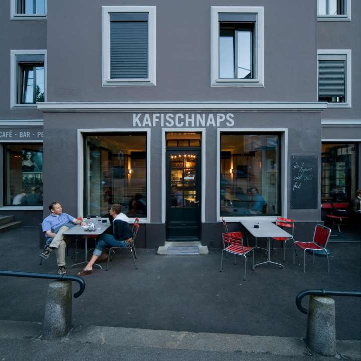 Kafischnaps, Zürich. — Hildebrand Studios AG, Architecture and Urban Design in Zurich, Switzerland