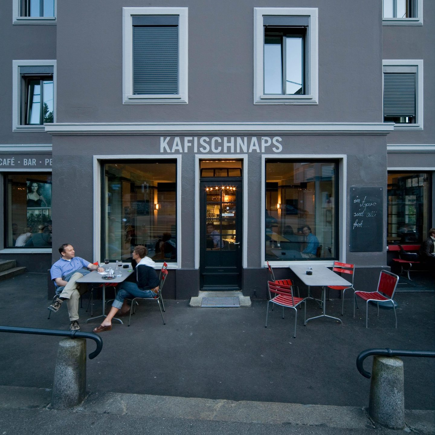Kafischnaps, Zürich. Hildebrand Studios AG, Architecture and Urban Design in Zurich, Switzerland