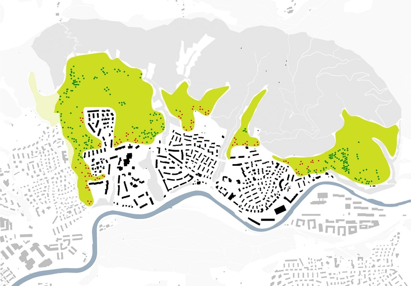 Leimbach Strategic Master Plan, Zürich. Hildebrand Studios AG, Architecture and Urban Design in Zurich, Switzerland