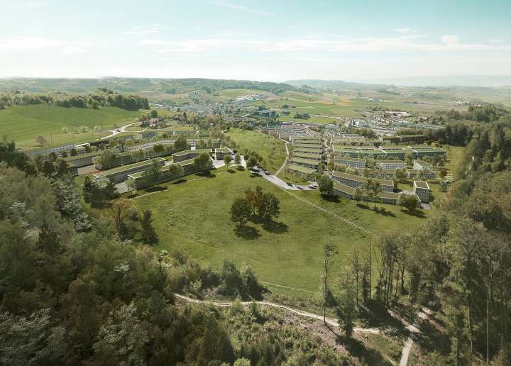 Ried Master Plan, Köniz BE. — Hildebrand Studios AG, Architecture and Urban Design in Zurich, Switzerland