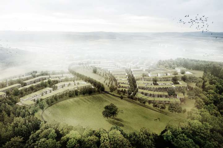 Ried Master Plan, Niederwangen. — Hildebrand Studios AG, Architecture and Urban Design in Zurich, Switzerland