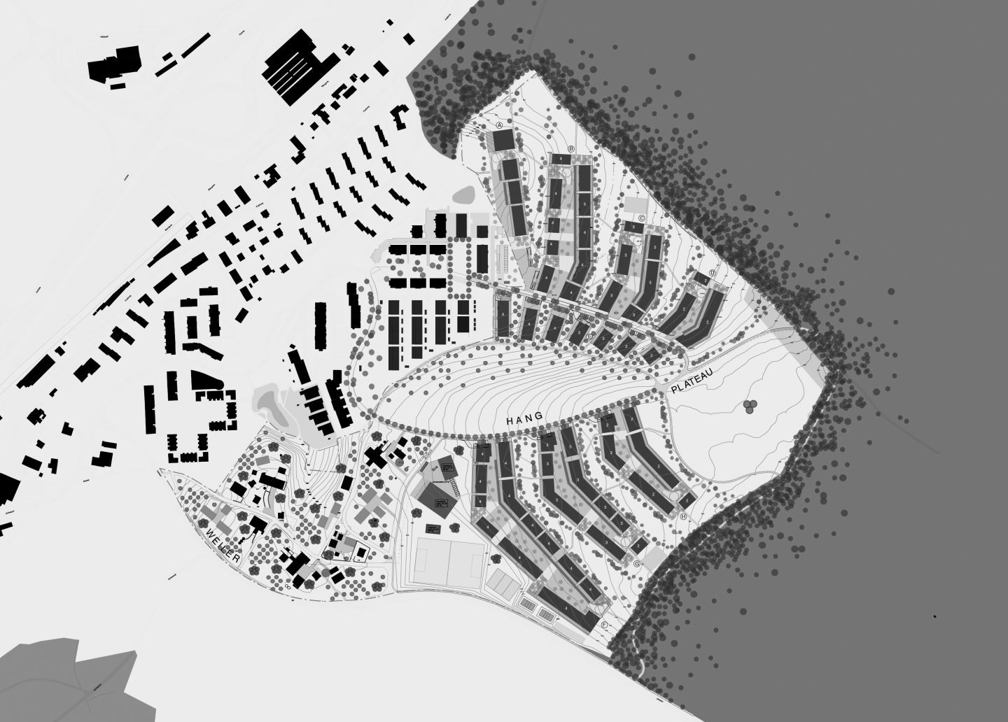 Ried Master Plan, Niederwangen. Hildebrand Studios AG, Architecture and Urban Design in Zurich, Switzerland