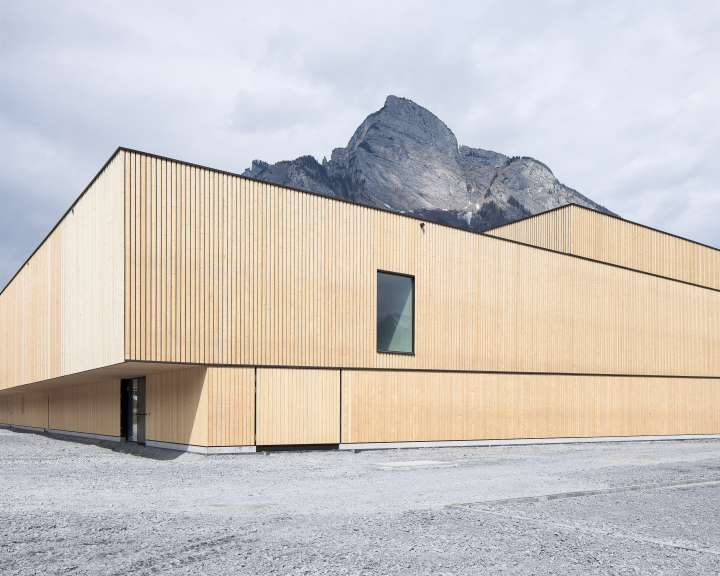 Sports Center Sargans, Sargans. — Hildebrand Studios AG, Architecture and Urban Design in Zurich, Switzerland