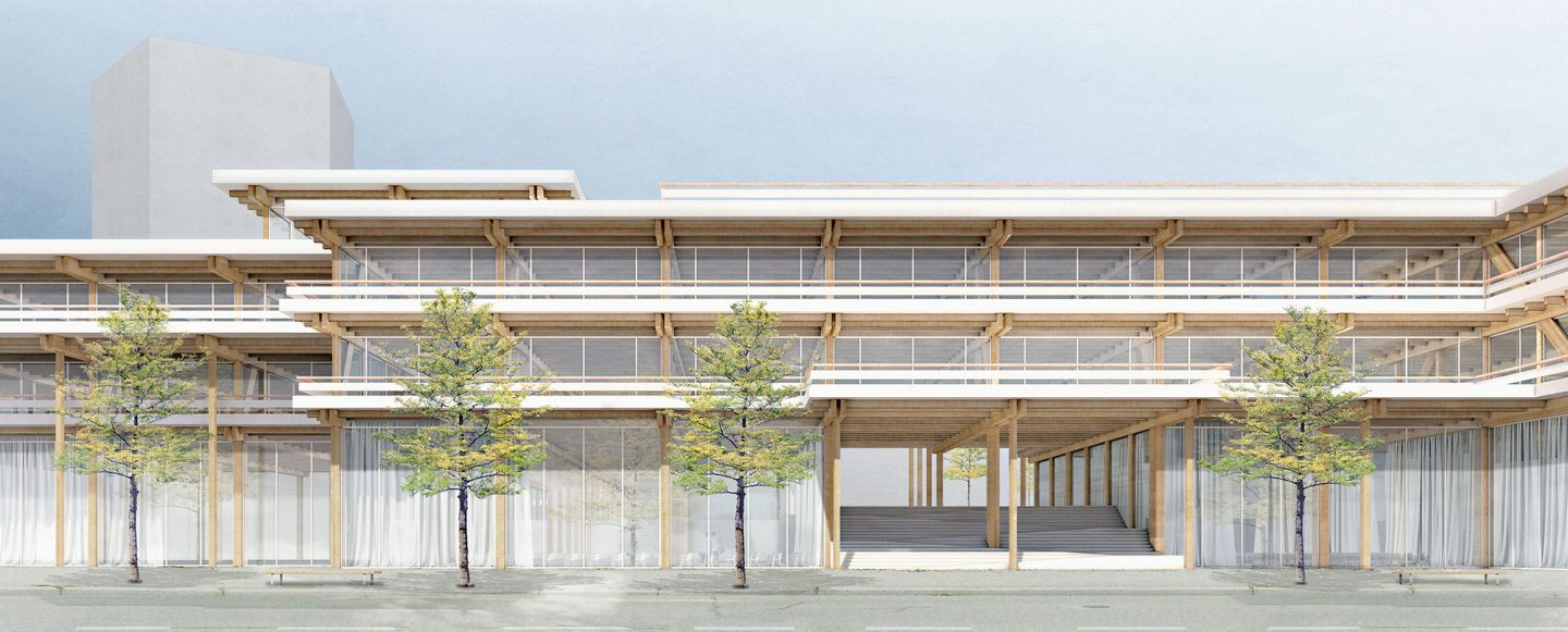 UIT Headquarters, Genève GE. Hildebrand Studios AG, Architecture and Urban Design in Zurich, Switzerland